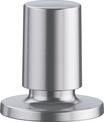Pull pop-up control round stainless steel satin polish