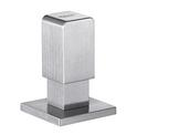 Pull pop-up control LEVOS stainless steel brushed finish