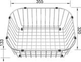 Crockery Basket FLEX / TOP stainless steel, Stainless steel