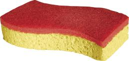 Spontex sponge red (2 pieces) PuraDur