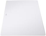 Glass chopping board white AXIA III 510x340, safety glass