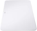 Glass chopping board white AXIS III 510x340, safety glass