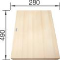 Wood cutting board maple COLLECTIS 6S, maple