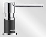 BLANCO LATO, brass SILGRANIT™ Look dual finish, anthracite/chrome