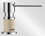 BLANCO LATO, brass SILGRANIT™ Look dual finish, champagne/chrome