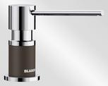 BLANCO LATO, brass SILGRANIT™ Look dual finish, coffee/chrome