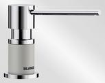 BLANCO LATO, brass SILGRANIT™ Look dual finish, pearl grey/chrome