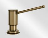 BLANCO LIVIA, brass galvanic, brushed brass