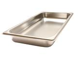 Colander stainless steel GN 1/3 -40 non-perforated, Stainless steel