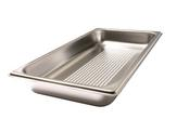 Colander stainless steel GN 1/3 -40 perforated, Stainless steel