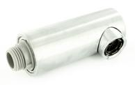 Spray head ATOS-S ND stainless steel finish complete HA, metallic surface, stainless steel finish, Low pressure