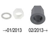 Assembly nut M 35 (grey) MZ