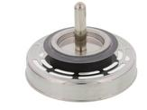 """Basket strainer RADIAL 3.5"""" with pin (20 drain trenches) AL"""