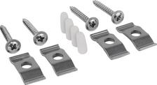 Mounting set for undermount sink ceramic (4x)