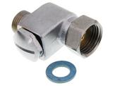 """Dirt filter angle valve 1/2"""" with seal"""