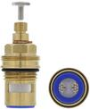 Shut-off valve ORION-A with screw modified version, brass, High Pressure