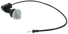 Pop-up turning unit with bowden cable stainless steel black (replaced by 120338) AL