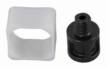 Sliding piece + connector soap dispenser LEVOS/QUADRIS MZ