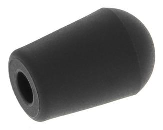 Plastic foot black for wire 4 mm (1 piece)