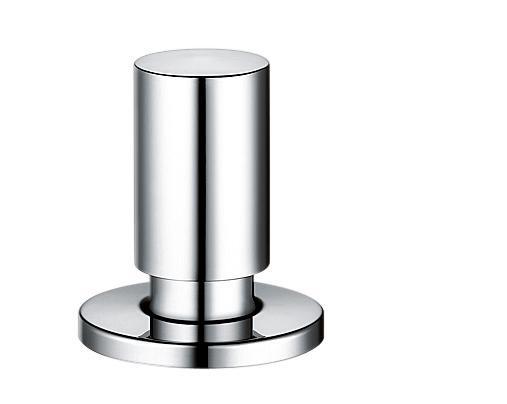 Pop-up control round chrome (metal) (replaced by 222907)