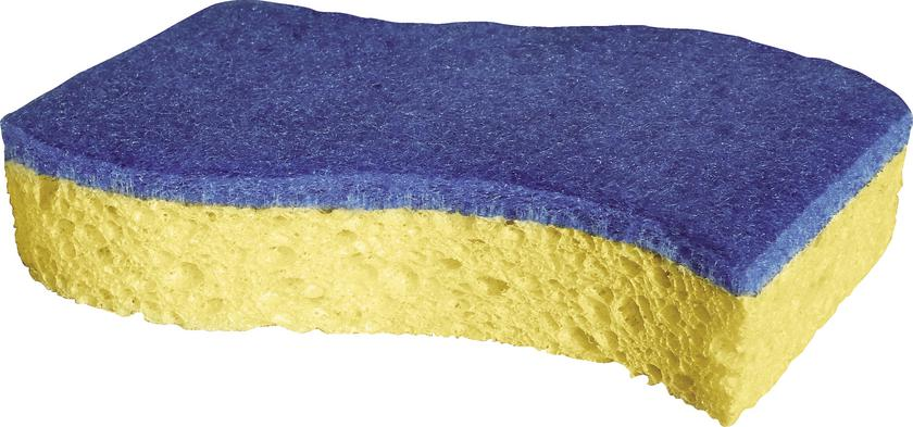 Spontex sponge blue (2 pieces) scratch-free