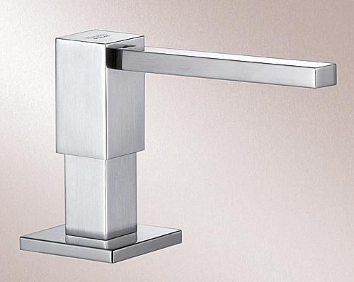 BLANCO KANTOS Soap dispenser, Stainless steel solid, stainless steel satin polish