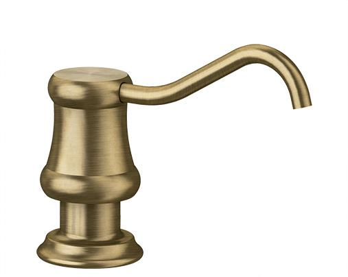 BLANCO VICUS Soap Dispenser, brass galvanic, brushed brass