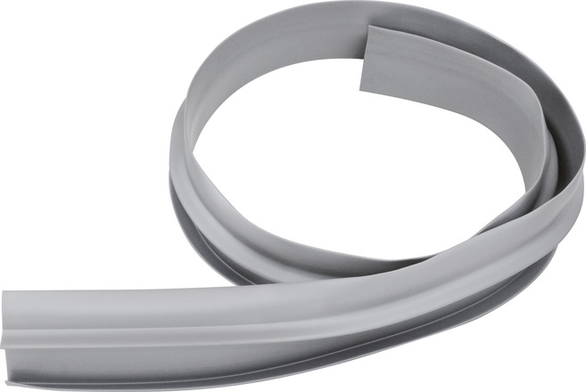 Wall connection profile (grey)